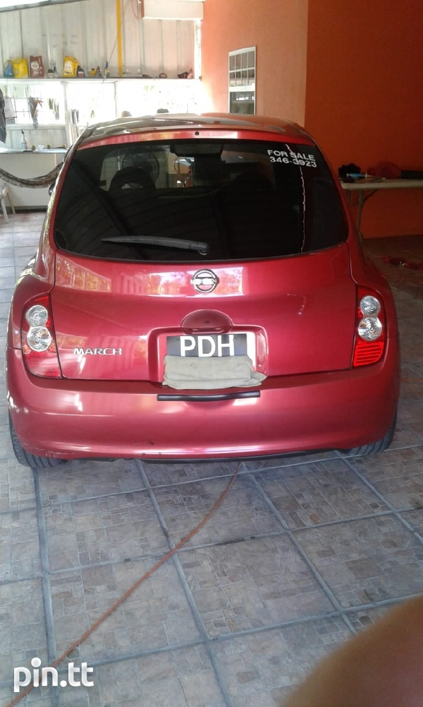 Nissan March, 2009, PDH-6