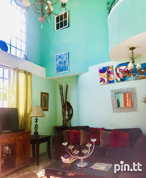 Lovely 4 bedrooms House in vicinity of Queens Park Savannah, POS-1