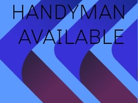 Handyman Available Marabella and Environs