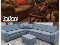 Conversion of 3 piece sets to sectional
