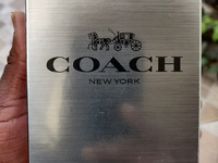 Father's Day Original Coach New York Platinum New Sealed