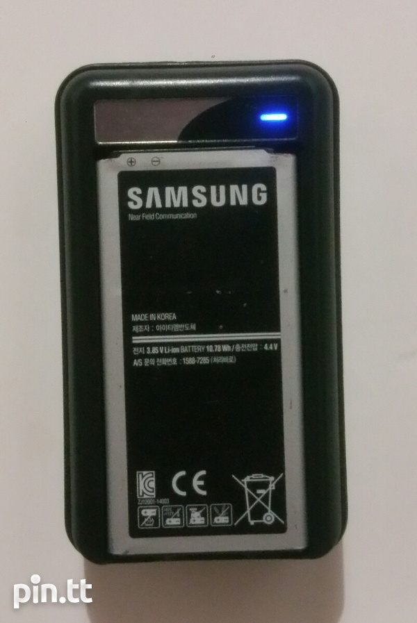 Battery together with Intelligent Charging Kit for Samsung Galaxy S5-1