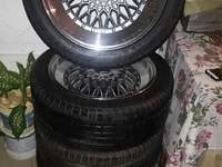 BBS 17 INCHES X 7.5 4 HOLE UNIVERSAL RIMS