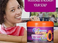 Caribbean Glow Papaya Infuse Hair Gel
