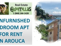 2 bedroom unfurnished apt in Arouca