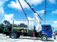 HINO truck with hiab
