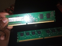 x2 2 GB Ram Sticks DDR3