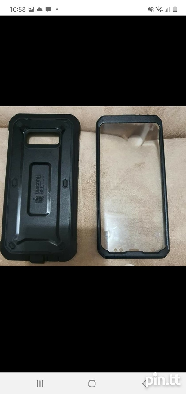 Samsung S8 and Protective Case-3