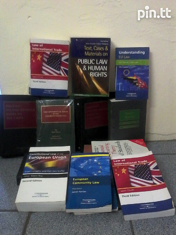 Law Books and Accounting Books-1