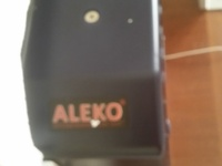 Aleko Electric sliding gate motor