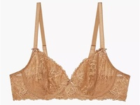 Savage X Fenty Unlined Floral Lace Bra NWT