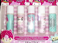 5 piece jumbo lip balm set