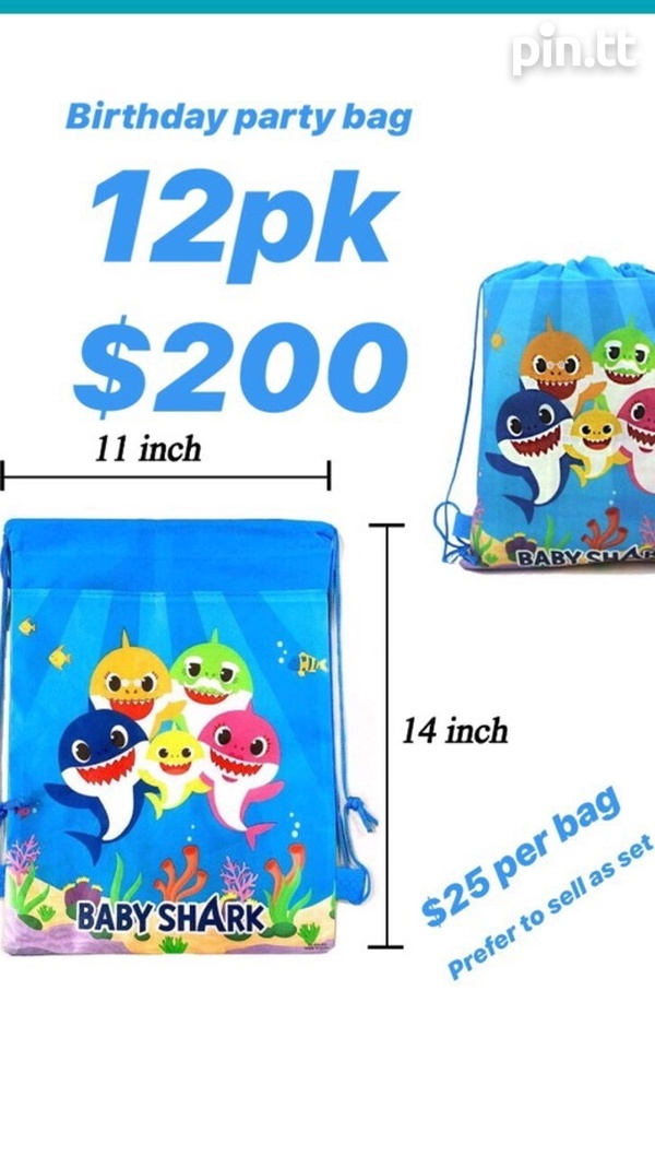 Baby Shark Party Bags-1