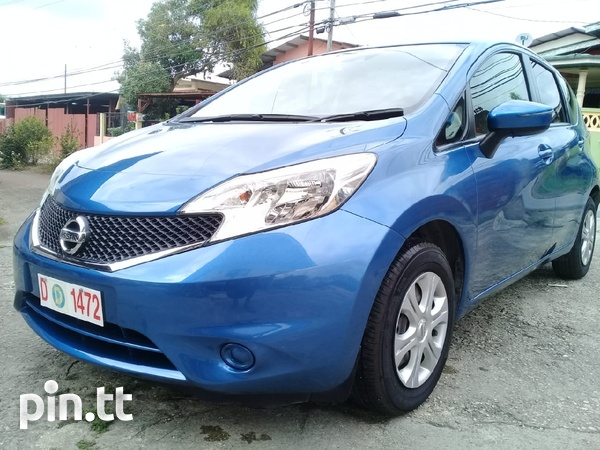 Nissan Note, 2015, roll on roll off-1