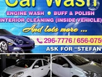 Buffing and polishing of cars and vans