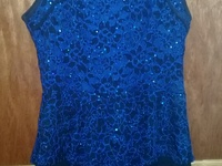 Beautiful royal blue sequin dress