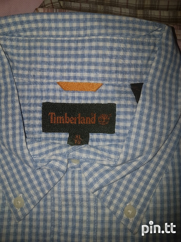 Original Timberland shirt men xl-2