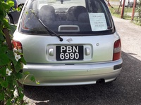 Nissan March, 2010, PBN