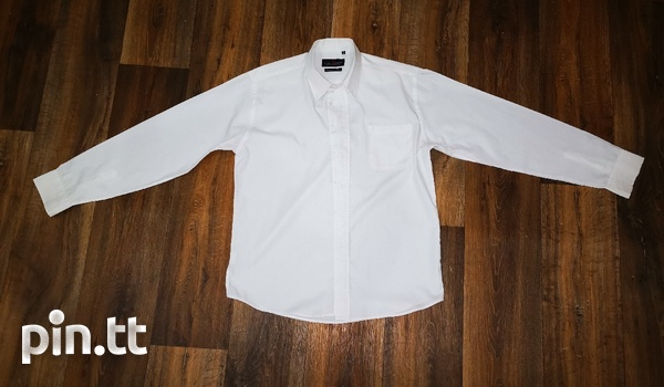 4 Men's Shirts XL, Imported, Original Lucatoni, White-1