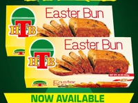 HTB Jamaican Easter and Spice Bun