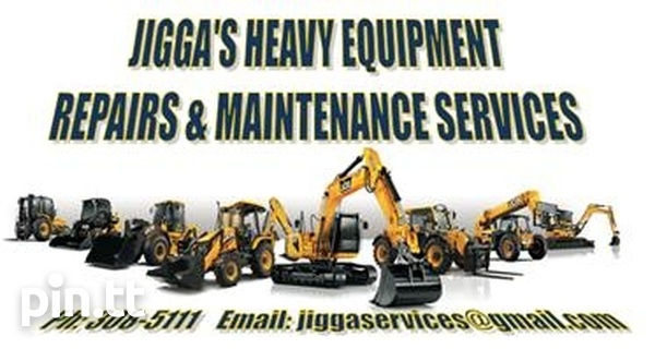 Jigga's heavy equipment repair and maintenance services