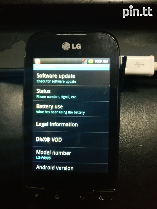LG android optimus net-1