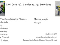 SAM General Landscaping Services