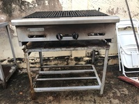 BBQ Grill with table