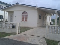COUVA, Roystonia Gardens 3-bedroom house.