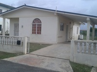 COUVA, Roystonia 3-bedroom house