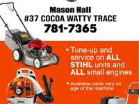 Small Engine Repair and Services - Get your machines fixed in 2-3 days