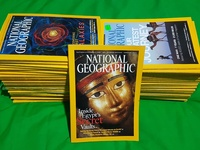 National Geographic - 57 issues from 2003 to 2017
