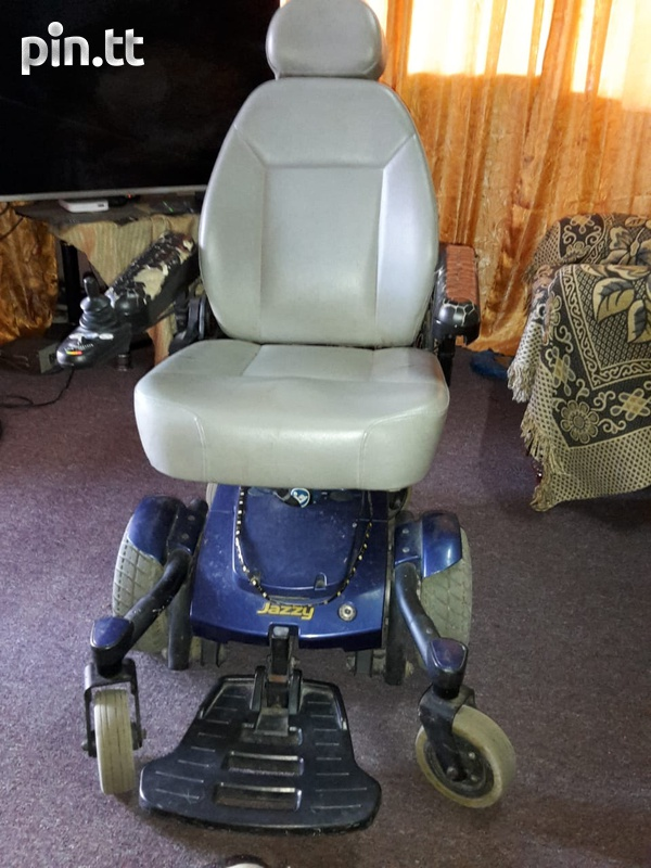 jazzy electronic wheelchair-4