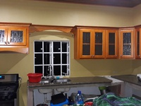 Kitchen cabinets, countertops, closets, vanities and ceilings