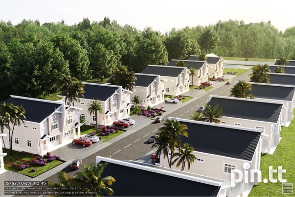 Piarco Duplexes with 3 Bedrooms-5