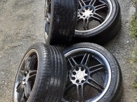 17in rims and tyres