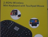 Mini keyboard and mousepad