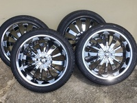 20 Inch Chrome Rims And Tyres