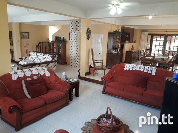 Lovely 4-bedroom fully furnished house Arima-3