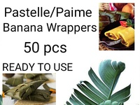 Pastels / Paime Banana Wrappers
