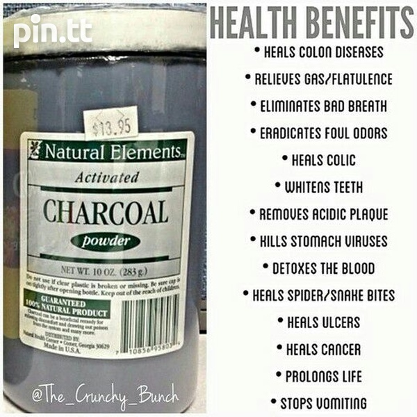 NEW SEALED Activated Charcoal capsules-2