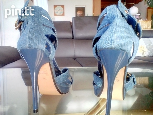 Women's Sophisticated Denim Shoes-3