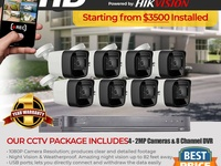 8 CH 1080P HD PACKAGE