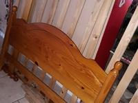 Good Bed Frame and mattress SOLD