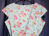 Brand new blue floral dress - size L