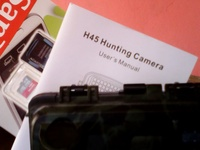 huntting camera never been used.