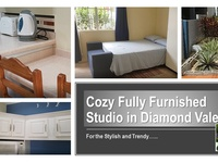 COZY FULLY FURNISHED STUDIO IN DIAMOND VALE IS NOW AVAILABLE FOR