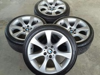 18 inch BMW, H100 Staggered Rims and New Tyres