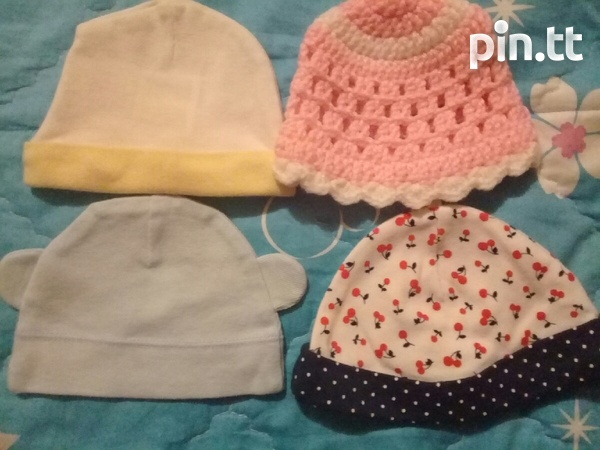 BABY HATS AND DINSEY MINNIE SUIT PANTS AND TOP-2