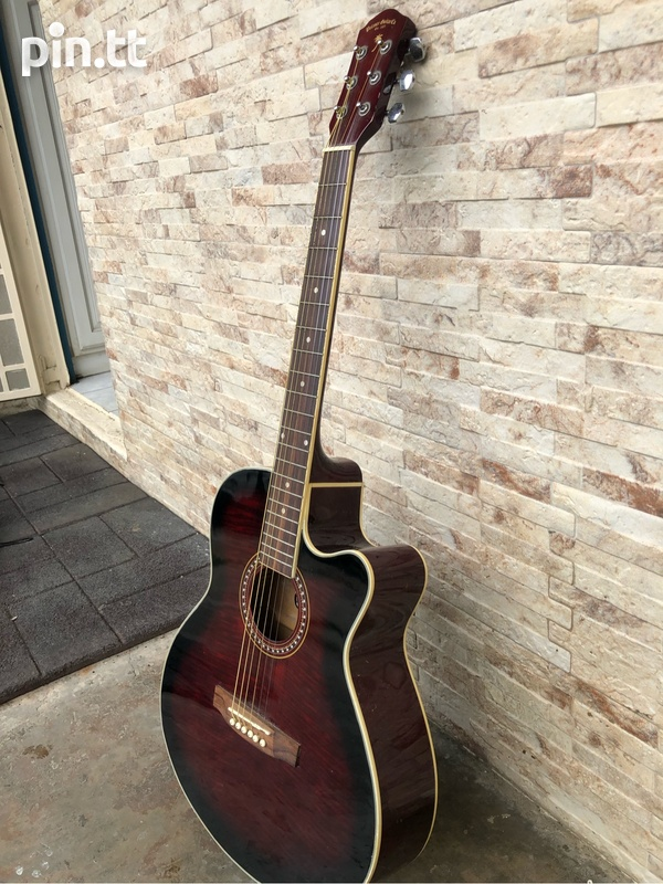 Guitar and case-3